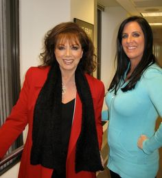 At a radio show with Patti Stanger - The Millionaire Matchmaker
