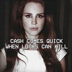 Lana Del Rey #LDR #Hundred_Dollar_Bill