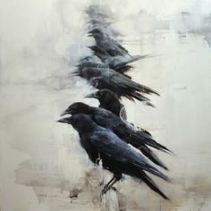 """art-and-fury: """" What Is Gathered Will Disperse - Lindsey Kustusch"""""""