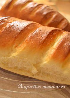 Fromage ou Dessert ? Dessert !!!: Baguettes viennoises