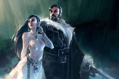 Ciela and her Lord Protector by Benlo.deviantart.com on @deviantART