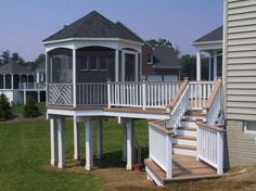 Gazebos Virginia May look much more welcoming once the landscaping covers most of the posts.