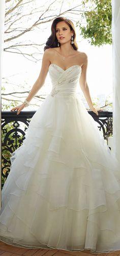 Sophia Tolli 2015 Bridal Collection   bellethemagazine.com