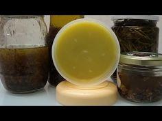 Cómo Hacer Crema Natural con Cera de Abejas - YouTube