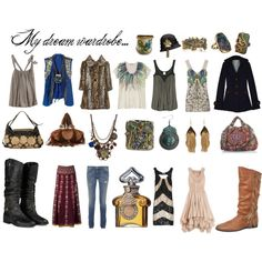 What was that about a capsule wardrobe.....?, created by moon2moon on Polyvore