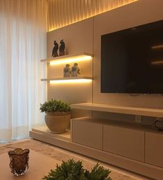 Best 20 TV Room Ideas for Your Home and Remodel « inspiredesign Tv Unit Decor, Tv Wall Decor, Tv Unit Furniture, Home Decor Furniture, Tv Wall Design, House Design, Modern Tv Wall Units, Living Room Tv Unit Designs, Muebles Living