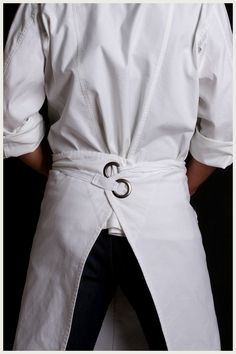 Designer Kitchen Aprons designer chef jacket - men's station | apron, restaurant uniforms