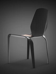 Carbon Fibre Chair Concept #1 on Behance