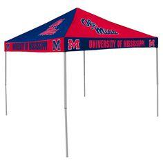 NCAA Mississippi Rebels Chckrbrd Tent