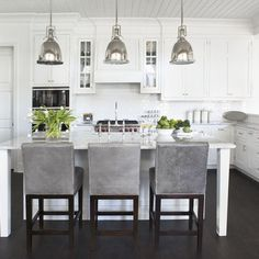 Gray Kitchen Design, Pictures, Remodel, Decor and Ideas - page 6