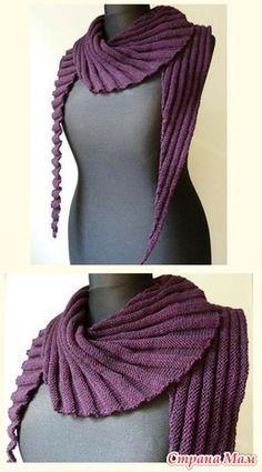 Всем привет! Думаю найдется много желающих связать вот такой шарфик, а вместе это всегда веселее!!!