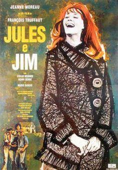 François Truffaut - 1962 - Jules & Jim with Jeanne Moreau New Wave Cinema, I Love Cinema, Jeanne Moreau, Jules Et Jim, Francois Truffaut, French New Wave, French Movies, Film Movie, Film