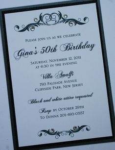 80th Birthday Invitation Any Age Women Birthday by ArtHomeBoutique ...