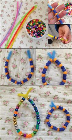 Mala making is an absolute favourite of all Kiddie Sang … Craft Work For Kids, Yoga For Kids, Projects For Kids, Art For Kids, Crafts For Kids, Arts And Crafts, Art Projects, Nursery Activities, Activities For Kids