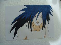 Naruto - Madara - Markers pencils