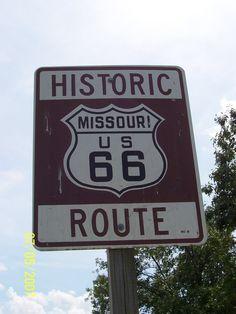 Route 66 my Missouri !