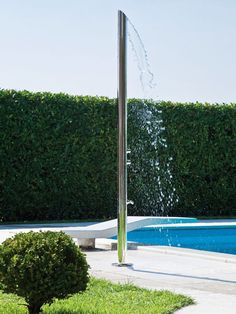 Elegant Outdoor Showers : Outdoors : Home & Garden Television