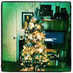 """""""Our first Christmas tree. <3"""" via @morgan59155 #LetLoveShine"""
