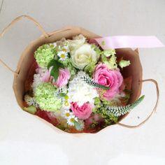 Bouquet printanier - quelques échappées de Véronique