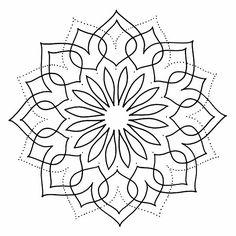 Visita la entrada para saber más Mandala Design, Mandala Art, Geometric Mandala, Mandala Drawing, Mandala Painting, Mandala Pattern, Stencil Patterns, Stencil Designs, Pop Art Wallpaper