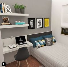 cool and stylish boy bedroom ideas you need to see! - cool and stylish boy bedroom ideas you need to see! – 33 Best Teenage Boy Room Decor Ideas an - Trendy Bedroom, Girls Bedroom, Diy Bedroom, Master Bedroom, Bedroom Small, Bedroom Storage, Bedroom Rustic, Bedroom Inspo, Small Bedroom Designs