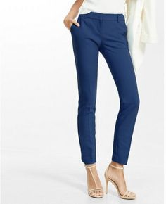 Express Mid Rise New Waistband Columnist Ankle Pant #http://shopstyle.it/l/cL2c