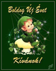 BUÉK-KÉPEK 2. Cute Art, Happy New Year, Advent, December, Banner, Christmas Ornaments, Holiday Decor, Cards, Anul Nou