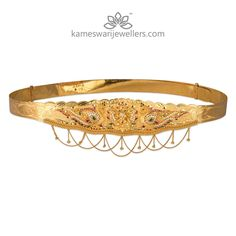 Stunning gold vaddanam collections by Kameswari Jewellers. Shop online from South India's finest traditional jewellers. Indian Jewellery Design, Jewelry Design, Indian Jewelry, Kids Jewelry, Jewelry Sets, Gold Waist Belt, Gold Temple Jewellery, Pearl Jewelry, Vaddanam Designs