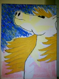 Inspirational Night (3/22/15)  Horse Art For Sale Contact 678-651-8857