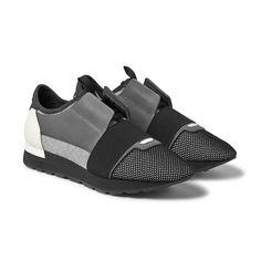 #copordrop?: @balenciaga Mixed Media Trainer Black/White/Grey.