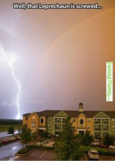 Funny Pictures That Leprechaun Is Screwed
