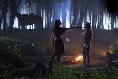 The Shannara Chronicles - Amberle Elessedil and Eretria
