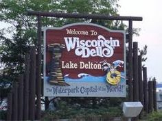 Wisconsin Dells, WI.  So many great memories of stopping here on our way to Canada every year.  Haven't been there in years, but I'll always remember the Duck tours and the water parks.