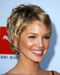 Image result for short wavy hairstyles for women
