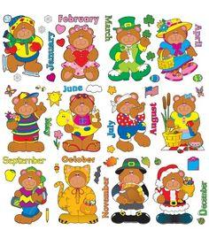 Holiday Bears Bulletin Board Set - Carson Dellosa Publishing Education Supplies