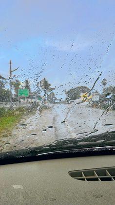 rain drops in my car