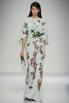 Runway #fashion review: Andrew Gn's masterful Chinoiserie print work