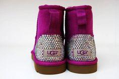 Studded Purple Ugg boots