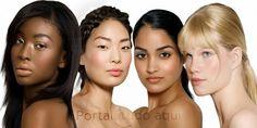 Como escolher a cor ideal de cabelo de acordo com o seu tom de pele -Portal Tudo Aqui