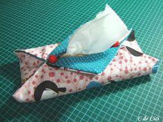C de Cici: PAP: Porta lenços de papel - 3 modelos