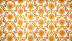 Wallpaper vintage, Tapete 70er Kult-Paper 17  - DinA4  / auch DinA3 mögl. von kultfaden auf DaWanda.com Gestalten mit Tapete