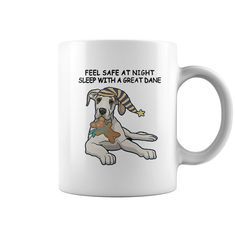 Great Dane Mugs - 11 oz. / 325 ml capacity ceramic mug #Great Dane #Great Daneshirts #iloveGreat Dane # tshirts