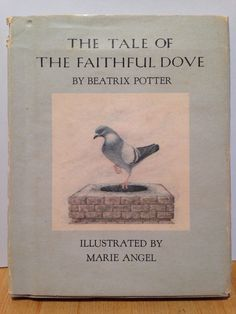 vintage book beatrix potter pigeon dove 2nd edition 1970