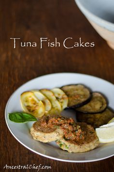 Paleo Coconut Tuna Fish Cakes