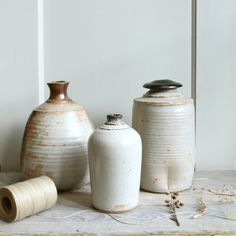 Vintage Handmade Studio Pottery Vase by ethanollie on Etsy