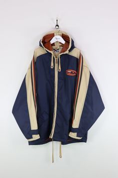 Measurements: Pit to pit - Length of back - Vintage items will usually show Fila Jacket, Vintage Sport, Motorcycle Jacket, Navy, Jackets, Clothes, Collection, Fashion, Hale Navy