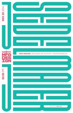 sabri akin - typo/graphic posters