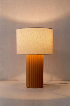 Urban Outfitters Tristan Ceramic Table Lamp #Sponsored , #affiliate, #Tristan#Outfitters#Urban Pleated Lamp Shades, Woven Shades, Fabric Shades, Arc Floor Lamps, String Lights Outdoor, Ceramic Table Lamps, Drum Shade, Light Shades, Home Lighting