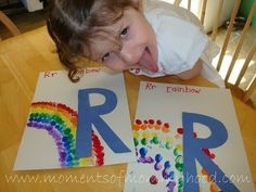 R is for Rainbow...
