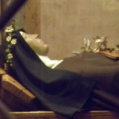 Incorruptible body of St. Clare in Assisi